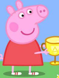 小猪佩奇国语版背景图