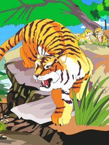 万兽之王-老虎