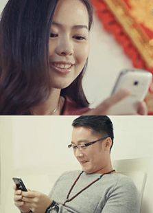 手机·饭(微电影)