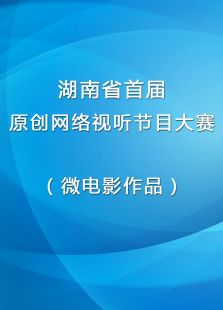 湖南省首届原创网络视听节目大赛(微电影作品)